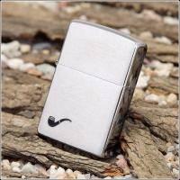 Зажигалка Zippo - Brush Fin Pipe Lighter (200PL)