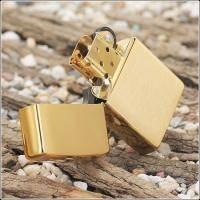 Зажигалка Zippo - Brushed Brass (204B)