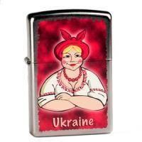 Зажигалка Zippo - Ukrainian Lady (207UL)