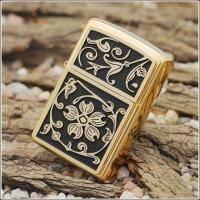 Зажигалка Zippo - Gold Floral Flourish (20903)
