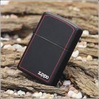 Зажигалка Zippo - Black Matte With Zippo (218ZB)