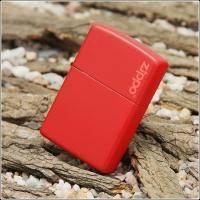 Зажигалка Zippo - Red Matte With Logo (233ZL)