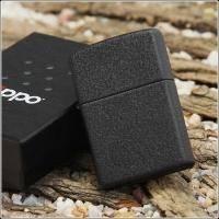 Зажигалка Zippo - Black Crackle (236)