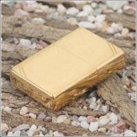 Зажигалка Zippo - Vintage Brushed Fin Brass (240)