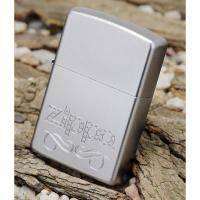 Зажигалка Zippo - Scroll Satin Chrome (24335)