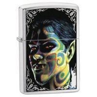Зажигалка Zippo - Face Painting Boy (24403)