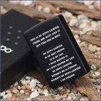 Зажигалка Zippo - ZPP Creed Black Matte (24710)