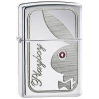 Зажигалка Zippo - Pboy Bunny W/pinc STN (24789)