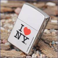 Зажигалка Zippo - I Love NY High Polish Chrome (24799)