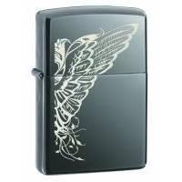 Зажигалка Zippo - Wings Black Ice (24802)