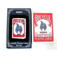 Набор Zippo - Lighter & Playing Cards Gift Set (24880)