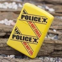 Зажигалка Zippo - Police Caution (28060)