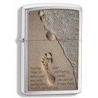 Зажигалка Zippo - Footprint in Sand (28180)