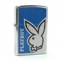 Зажигалка Zippo - Playboy Bunny Blue (28261)