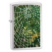 Зажигалка Zippo - Spider Web Rain Drops (28285)