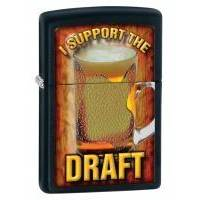Зажигалка Zippo - I Support the Draft (28294)