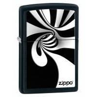 Зажигалка Zippo - Spiral Black & White (28297)