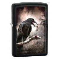 Зажигалка Zippo - Goth-Raven Eyeball (28319)
