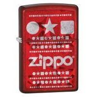 Зажигалка Zippo - Candy Apple Red With Logo (28342)