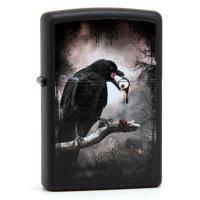 Зажигалка Zippo - Goth-Raven Eyeball (28434)