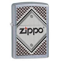 Зажигалка Zippo - Red and Chrome (28465)