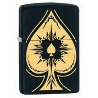 Зажигалка Zippo - Ace of Spades Brass (28662)