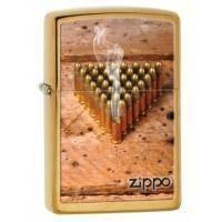 Зажигалка Zippo - Brushed Brass (28674)