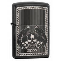 Зажигалка Zippo - Ebony Skulls (28678)