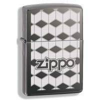 Зажигалка Zippo - Cubes Black Ice (324681)