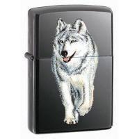 Зажигалка Zippo - Wolf Black Ice (769)