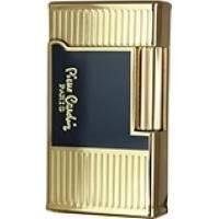 Pierre Cardin - Зажигалка газовая кремниевая Черный лак/золото (арт. MFH-78-02)