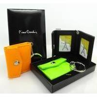 Pierre Cardin - брелок-фоторамка в виде кошелька для ручек оранженый (арт. PCG04-01)