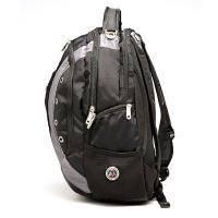 Wenger - Рюкзак Zoom для ноутбука черный/серый 36 x 21 x 47 см полиэстер 900D (арт. 1191215)