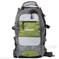 Wenger - Рюкзак Narrow hiking pack серый/серебристый/зеленый 47 х 23 х 18 см (арт. 13024415)