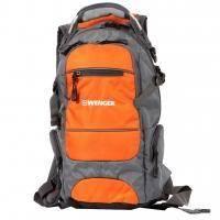 Wenger - Рюкзак Narrow hiking pack серый/оранжевый 47 х 23 х 18 см (арт. 13024715)