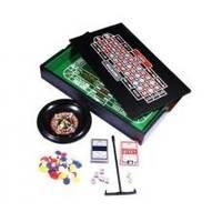 Настольная игра - Набор Duke Рулетка и мини покер с фишками (арт. 38-2820)
