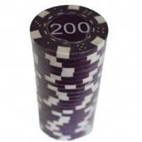 Настольная игра - Набор для покера Duke 25 фишек, номинал 200 (арт.MA06)