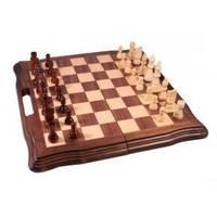 Настольная игра - Набор из 3 игр Duke шахматы, нарды, шашки 40 x 40см (арт. AF1601-05)