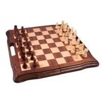 Настольная игра - Набор из 3 игр Duke шахматы, нарды, шашки 40 x 40см (арт. AF1602-07)