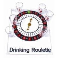 Настольная игра - Рулетка Duke на стеклянной доске с рюмками  (арт. CRS2025A)