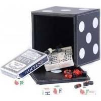Настольная игра - Набор из 5 игр Duke карты, шахматы, шашки, домино, кости (арт. DBT12002)