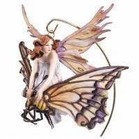 Veronese - Статуэтка Фея-малютка на бабочке (арт. 72459)