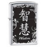 Зажигалка Zippo - Chinese Symbol Wisdom (28066)