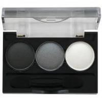 Ninelle - Трехцветные тени для век Smoky Eyes компактные № 21 - 2.4 ml (арт. 17761)