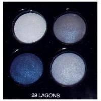 Тени для век Chanel - Les 4 Ombres №29 Lagons TESTER