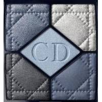 Тени для век Christian Dior - 5-Colour Eyeshadow Palette №254 Blue De Paris TESTER