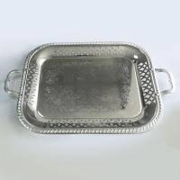 Lessner - Поднос прямоугольный Silver 51х32.5х3 см (арт. ЛС99133)