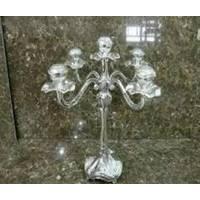 Lessner - Siver Collection Подсвечник 5 свечей 33 см (арт. ЛС99144)