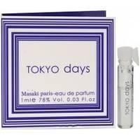 Masaki Matsushima Tokyo Days - парфюмированная вода - пробник (виалка) 1 ml