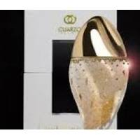 Cuarzo The Circle Levitation Gold Swarovski